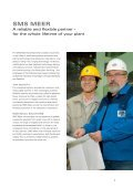LARGE-DIAMETER PIPE PLANTS - SMS Meer GmbH - Page 3