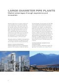 LARGE-DIAMETER PIPE PLANTS - SMS Meer GmbH - Page 4