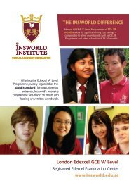 Download the brochure from here - Insworld Institute