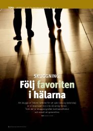 Följ favoriten i hälarna - MiL Institute