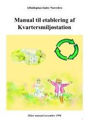 Manual til etablering af Kvartersmiljøstation