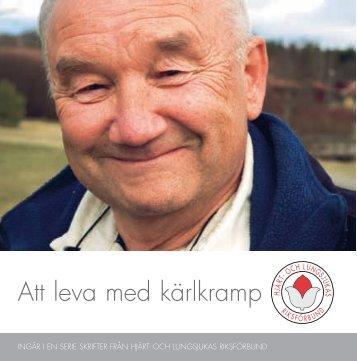 Att leva med kärlkramp - Hjärt- och Lungsjukas Riksförbund