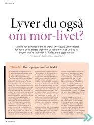 Læs interviewet her - Hinge Thomsen
