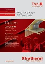 XT/PR Brochure Download PDF - Xtratherm