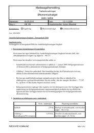 Mødesagsfremstilling Økonomiudvalget - Rødovre Kommune