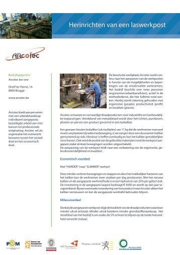 Arcotec - POM West-Vlaanderen