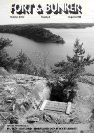 Nr 3 2005 Grund för pdf.indd - Fort & Bunker