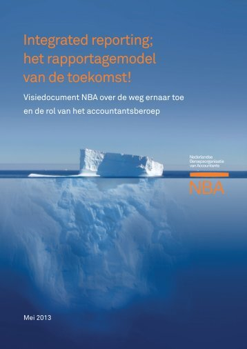 visiedocument integrated reporting - NBA