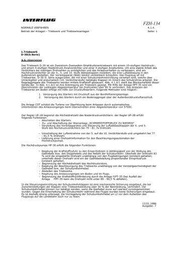 Triebwerk D-30 (II.Serie) - Interflieger