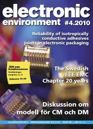 Här laddar du ner det senaste numret av Electronic Environment i ett ...