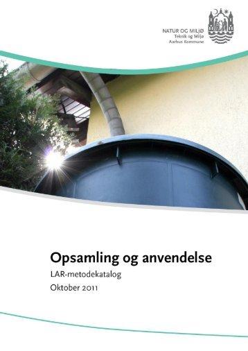 Opsamling og anvendelse (åbner nyt vindue) (pdf 865 KB) - Aarhus.dk