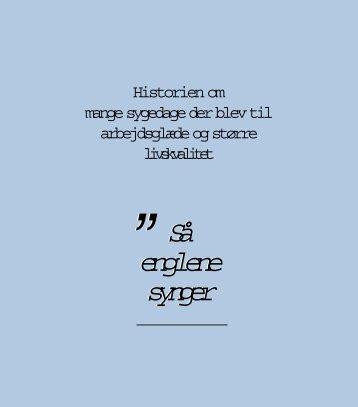 Download dokumentet Så englene synger i pdf format - Nota