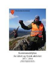 Kommunedelplan for idrett og fysisk aktivitet - Masfjorden kommune