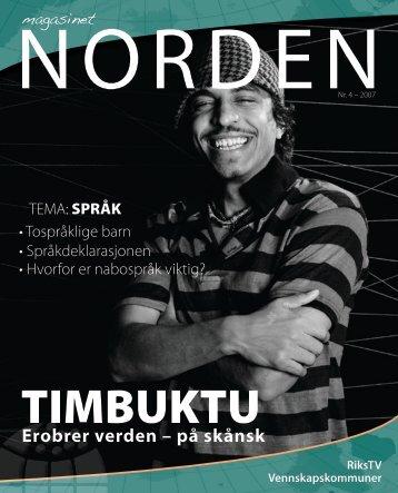 Erobrer verden – på skånsk - Foreningen Norden