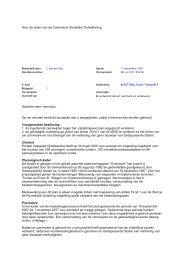 Aan: de leden van de Commissie Stedelijke ... - Gemeente Utrecht
