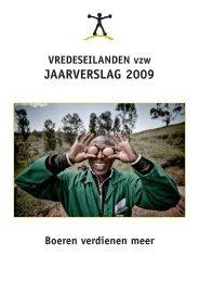 VREDESEILANDEN Jaarverslag 2009.pdf - Kauri