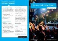 Muziekgebruik live muziek in de horeca (Dutch) - Buma/Stemra