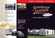 Brochure Chaletbouw Jannes