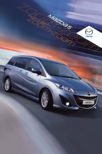 Hent Mazda5 brochure - Mazda Motor Danmark