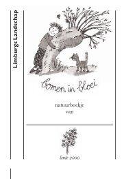 bomen in bloei - Ditte Merle