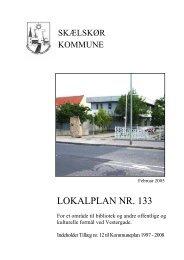 LOKALPLAN NR. 133 - Slagelse Kommune