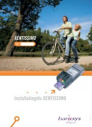 De XENTISSIMO gebruiken - Atos Worldline