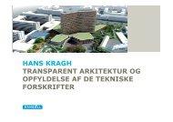 Transparent arkitektur og opfyldelse af tekniske forskrifter