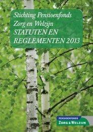 Statuten en reglementen 2013 - PFZW