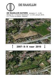 2007- 8- 9 naar 2010 - De Raaklijn
