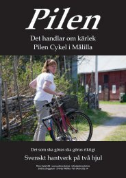 Pilen broschyr - Karins Sportbod