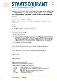 wijzigingen van het Bouwbesluit - Politiekeurmerk Veilig Wonen
