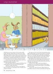 Lille Kanin lånar böcker - Välkommen till Reumatikertidningens arkiv