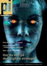 nummer 5/2008 årgång 11 - Pharma Industry