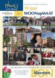 10 jaar - WOONopMAAT