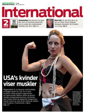 USA's kvinder viser muskler - The Collective of Lady Arm Wrestlers