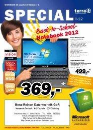 Back-to-School- - Benz-Reinert Datentech