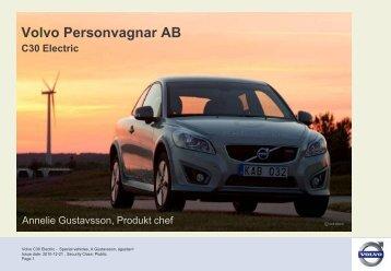 Volvo Personvagnar AB - WindREN AB
