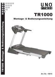 MONTAGE TR1000 - Beny Sports Germany