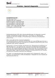 Prislista - Speciell diagnostik - Smittskyddsinstitutet