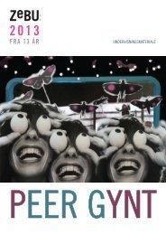 Undervisningsmateriale: Peer Gynt - ZeBU