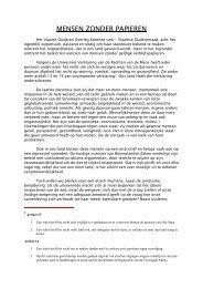 Standpunt mensen zonder papieren.pdf - Vlaamse Ouderenraad
