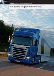 Ein Scania für jede Anwendung