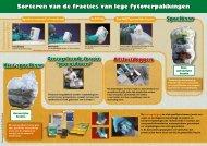 Sorteren van de fracties van lege fytoverpakkingen - Bayer ...