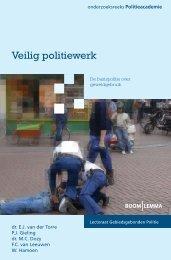 Veilig Politiewerk, de basispolitie over ... - Politieacademie