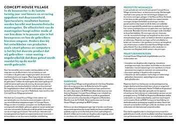 Brochure Concept House Village - RDM Campus