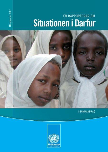 Situationen i Darfur - Svenska FN-förbundet