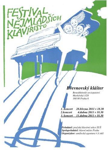 3. koncert 11. dubna 2011 v 18.30 hod. - V.P.Art