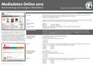 Mediadaten Online 2012 Bannerwerbung und ... - Mabuse Verlag