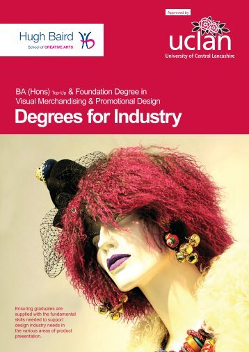 Visual Merchandising Course Booklet - Hugh Baird College