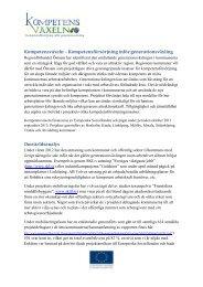 Projektbeskrivning omv... - Regionförbundet Östsam